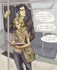 annabeth percy your armor is crooked - Google Search