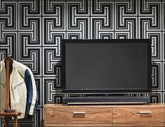 Sonos - PLAYBAR Soundbar Wireless Speaker - Black/Silver - Alt_View_Standard_16