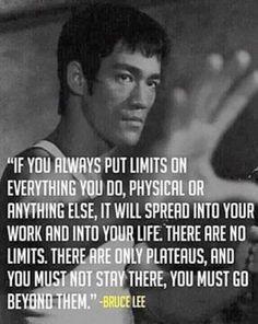 No limits...achieve what you believe
