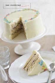 Las recetitas (de Mirasens): White chocolate cake (Tarta de chocolate blanco)