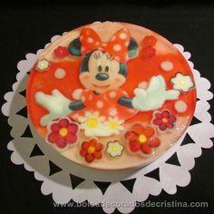 Minnie Gelatine/ Gelatina da Minnie Birthday Cake, Desserts, Food, Tailgate Desserts, Birthday Cakes, Dessert, Postres, Deserts, Birthday Cookies