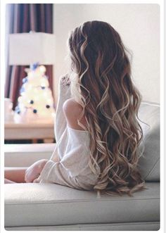 long loose curls