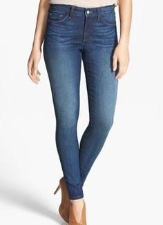 EUC $148 NYDJ 6 US AMI Super Skinny BEDFORD Whiskered Fade Jeans USA (6095)  #NYDJ #SuperSkinny