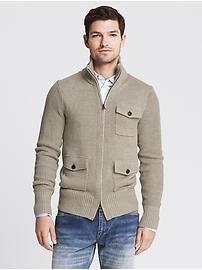 Linnen-katoenen sweatervest
