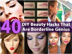 From hair to makeup, there are always going to be shortcuts that will help you to save time and get that magazine model look, without spending hours or a small fortune in doing so. We have collected a list of 40 beauty hacks that are easy, inexpensive and best of all, very...