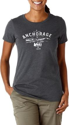REI Women's Logo Anchorage T-Shirt