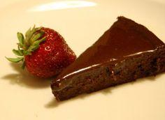 Tasty... and Gluten Free! One of my favourite GF desserts- flourless chocolate cake!