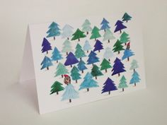 Pack of 8 A6 Christmas cards with envelopes. by HannahCarding