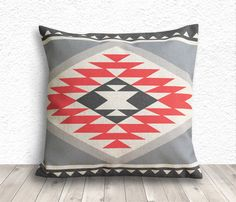 Pillow Cover Aztec Pillow Cover Tribal Pillow Cover by 5CHomeDecor, $14.99
