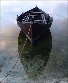 Viking's Floating Boat by *Ilmatarja on deviantART)