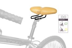 Felice - Ergonomic bike seat designed for Healthy on several types of bikes Saddle Cover, Bike Seat, Fixed Gear, Real Leather, Exercise, Healthy, Design, Ejercicio, Exercises
