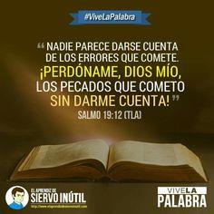 #ViveLaPalabra - Salmo 19:12