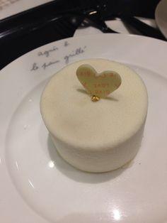Tiramisu  White chocolate @ Agnes b.  @ Taipei