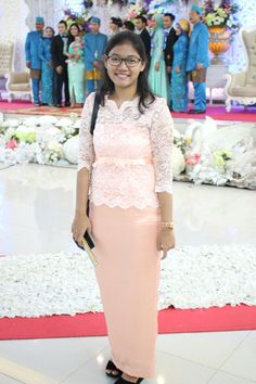 #dress #longdress #kebaya #brukat #satin #kebayamodern #indonesia