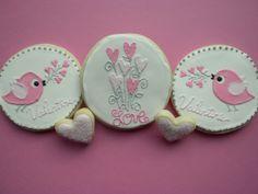 I love these tweet cookies;) by sarahsweet would be cute painted!