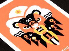 Tarot: Strength by Daniel Haire #Design Popular #Dribbble #shots