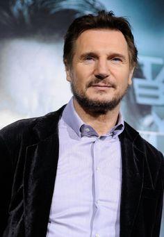 Liam Neeson, one of my favorite Irish actors