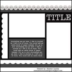 Scrapbooking TammyTags -- TT - Designer - Miracles Momma Designs, TT- Item - Template