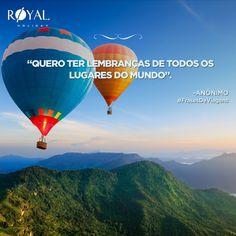 #viagem #royalholiday #mundo