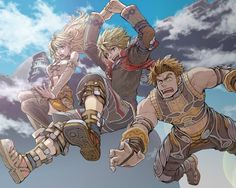 Xenoblade Chronicles - Shulk, Fiora, and Reyn Video Game Art, Video Games, Xenoblade X, Monolith Soft, Xeno Series, Xenoblade Chronicles 2, Music For Studying, I Love Games, Super Smash Bros