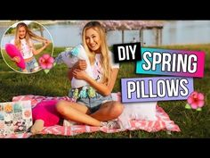 3 DIY Pillows to Make Your Room Spring Ready! | LaurDIY - YouTube