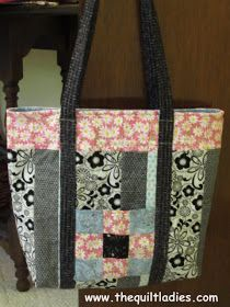 The Quilt Ladies Book Collection: Christmas in July Quilt Ladies Tote