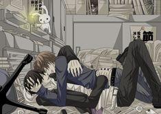 Takano x Ritsu - Sekai-ichi Hatsukoi Manga Anime, Manga Bl, Anime Art, Anime Love, Anime Guys, Shounen Ai, Cute Gay, Anime Ships, Fujoshi