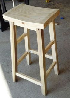 Барный стул из дерева своими руками: фото, чертежи