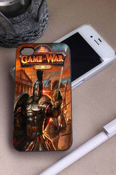 Game of War Fire Age   Game   iPhone 4 4S 5 5S 5C 6 6+ Case   Samsung Galaxy S3 S4 S5 Cover   HTC Cases