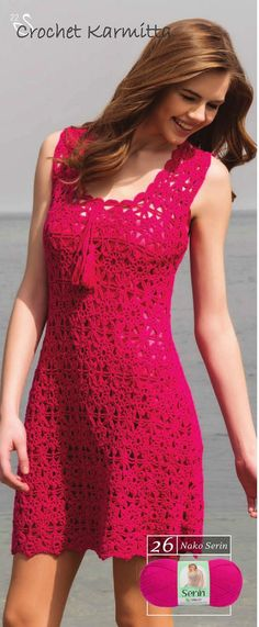 Crochet Dress...Very Pretty!