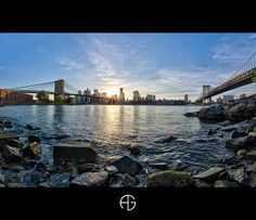 New Yorker sunset by A.G. Photographe, via Flickr