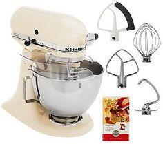 KitchenAid 4.5qt. 300 Watt 10 Speed Tilt-head Stand Mixer $288 @ QVC