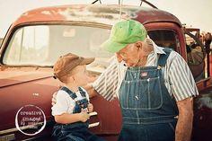 Talkin' trucks with Grandpa