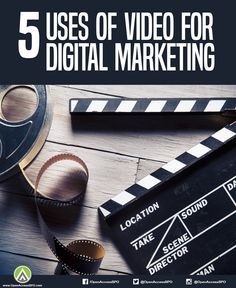 How do you actually use videos to improve your business? Here are different ways videos can be used to improve your #DigitalMarketing strategy.