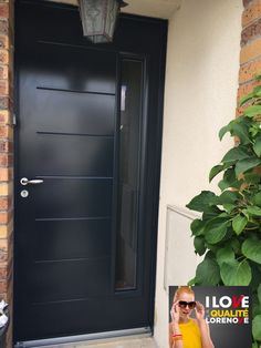 1000 images about porte d 39 entr e on pinterest - Porte d entree alu gris anthracite ...