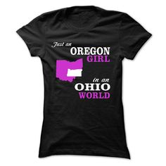 JUST AN OREGON GIRL IN AN OHIO WORLD