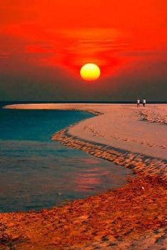Sunset in Camiguin Island, Phillipines