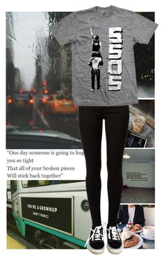 """""""5 Seconds of Summer//Broken Pieces"""" by avintagemystery ❤ liked on Polyvore featuring Vans and Dorothy Perkins"""