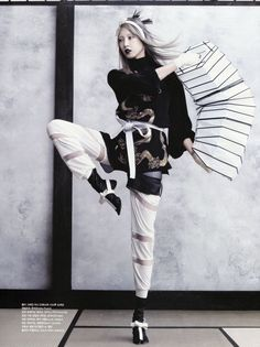 Elegant Martial Arts Editorials : Vogue Korea June 2013