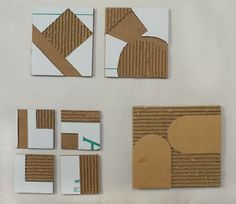 how corrugated cardboard  can be used: Adventures in Printmaking  by Altoon Sultan