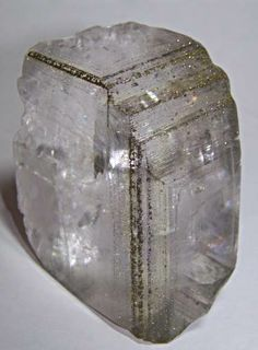 calcite with chalcopyrite usually calcite bores me, but this one looks awesome
