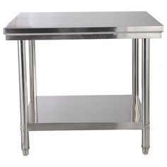 Vintage american industrial two tier stainless steel commercial ...