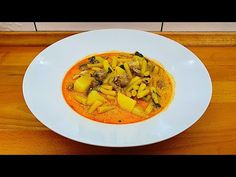 Palóc leves BF módra - YouTube Thai Red Curry, Ethnic Recipes, Youtube, Youtubers