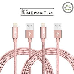 Amazon Lightning Deal 52% claimed: Vinpie 2Pack 10FT Extra Long Durable USB Cable Nylon Braided 8 Pin Lightning ... http://www.lavahotdeals.com/ca/cheap/amazon-lightning-deal-52-claimed-vinpie-2pack-10ft/125733