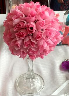 Wedding Centerpieces, Floral Arrangements by TinasWreathsandMore on Etsy