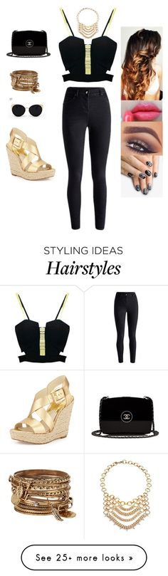 """""""Untitled #2887"""" by sigalv on Polyvore featuring Chanel, ALDO, Mary Kay, alfa.K, DANNIJO, Una-Home and MICHAEL Michael Kors"""