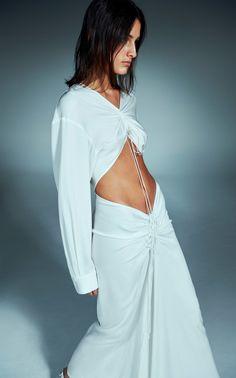 Trend Fashion, Look Fashion, 90s Fashion, Runway Fashion, Fashion Show, Fashion Outfits, Womens Fashion, Fashion Design, Korean Fashion