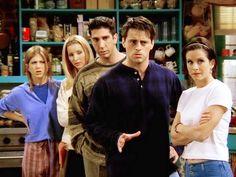 The gang minus chandler