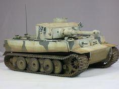 Tamiya Tiger I Russland Winter-Camo 1:48