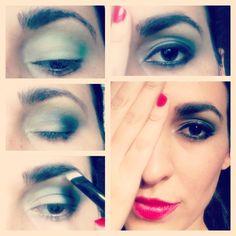 Diy maquillaje navideño Makeup By: Erika Arboleda  Ig: @maquillajeerikaag